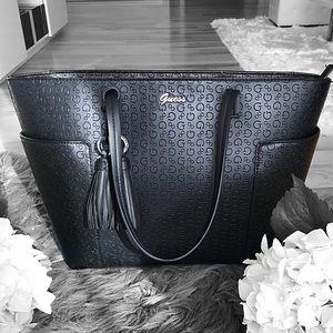 Guess Logo Tote Bag